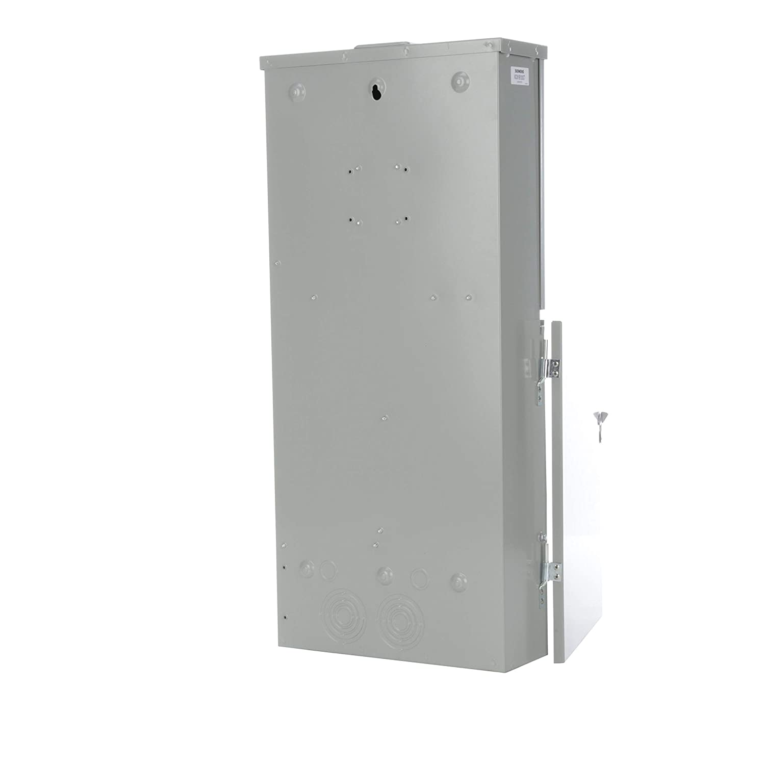 Siemens Mc0816b1200ct 8 Space 16 Circuit 200 Amp Main Breaker Installation With A Pb30 Inlet On Cutler Hammer Meter Combination Ring Type Cover Panels