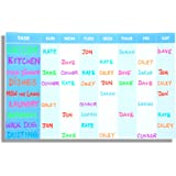 Weekly Magnetic Chore Chart and Chore List Planner Magnet