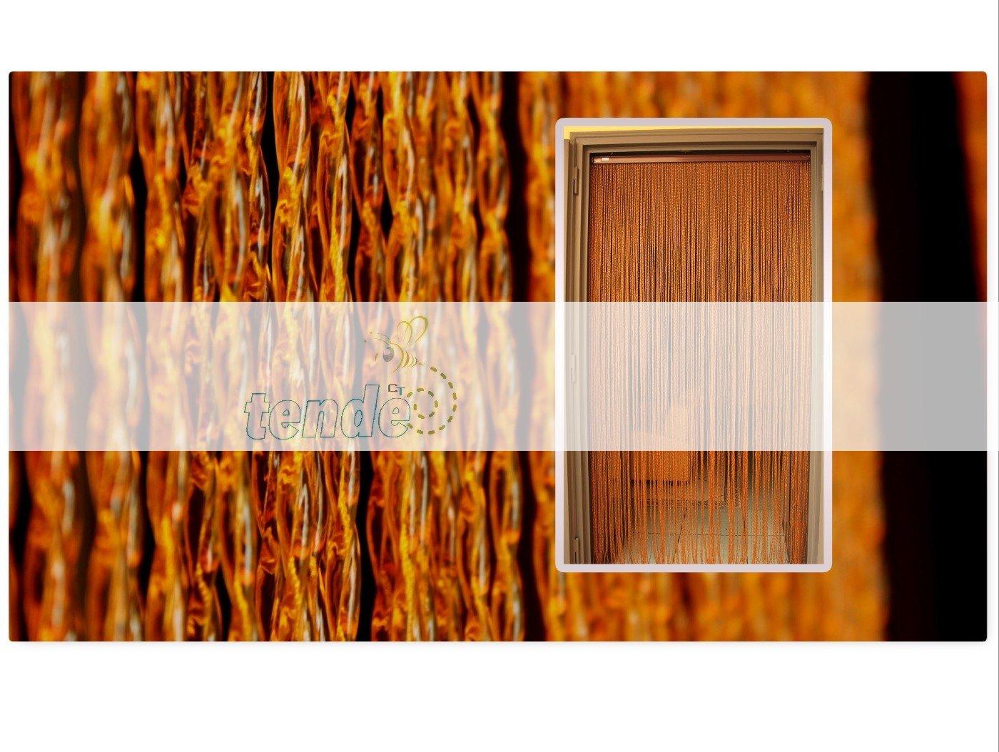 PVC-Türvorhänge Modell Roma – Aluminiumträger - Made in  - - - Eichmaß (95X200 100X220 120X230 130X240 150X250) – Fliegenvorhang (100X220, Transparent (2)) B01DYOT9B4 Fensterdekoration ec0fce