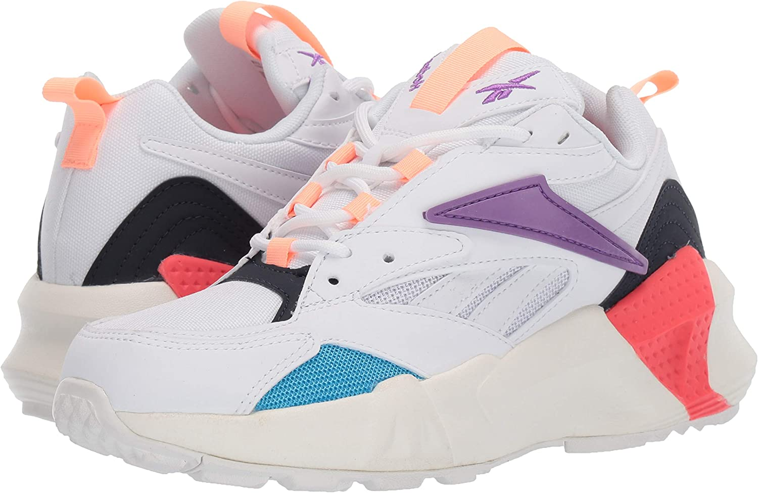 Reebok Womens Aztrek Double Mix Pops Sneaker