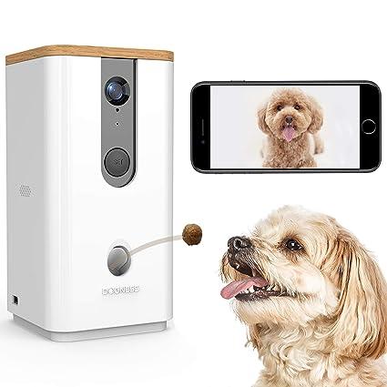Dog Treat Dispenser >> Amazon Com Dogness Dog Camera Treat Dispenser Hd Video Wifi Pet