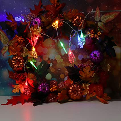 boluoyi seasonal lightingclear christmas lights white wire12mhalloween string light with 10