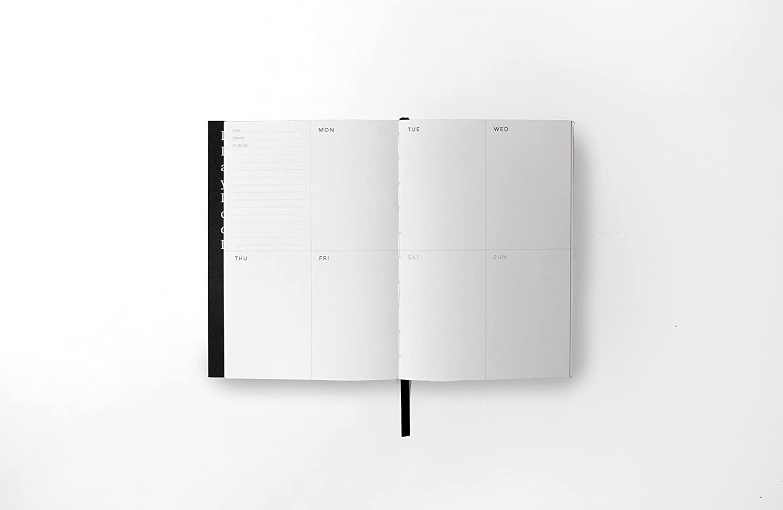 Octagon Design PL2094B Planificador color negro