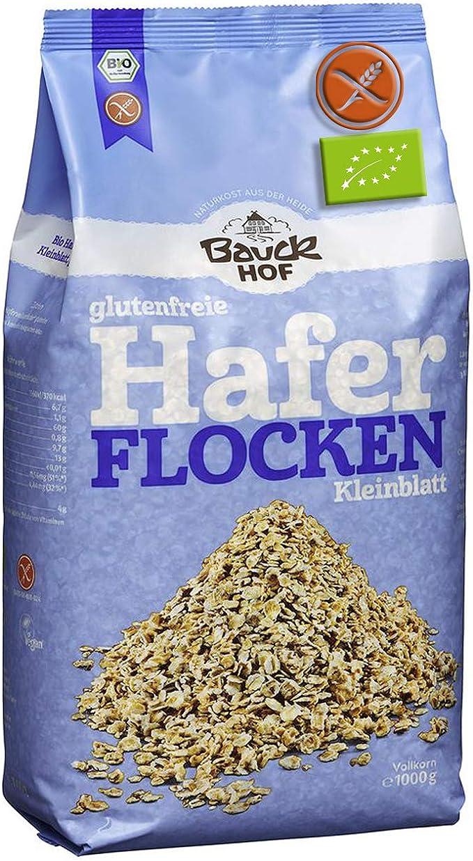Copos De Avena Sin Gluten Orgánica 1Kg Bauckhof | Avena Bio En ...