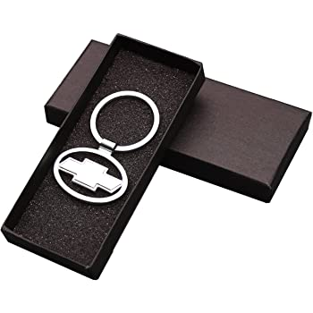 Lincoln Continental Black Leather /& Metal Rectangular Key Chain Keychain Fob Baronlfi