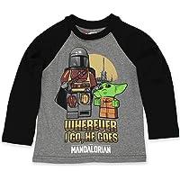 LEGO Star Wars The Mandalorian Boys Long Sleeve T-Shirt Tee