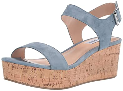 f631a2b537 Amazon.com | Steve Madden Women's Breathe Wedge Sandal | Platforms ...