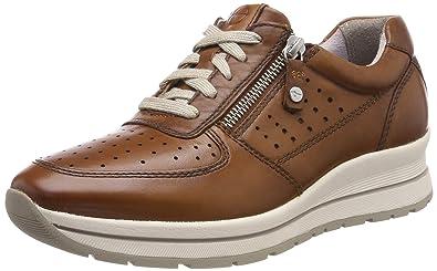 1 30537 22Sneakers Basses 23740 FemmeMarroncognac Tamaris ybf7Y6g