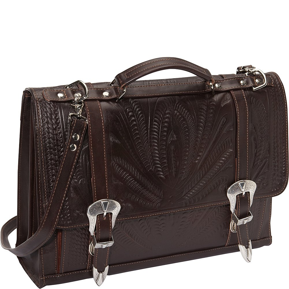 Ropin West Briefcase (Brown)