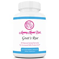 Goats Rue Lactation Aid Support Supplement for Breastfeeding Mothers - 120 Vegetarian...