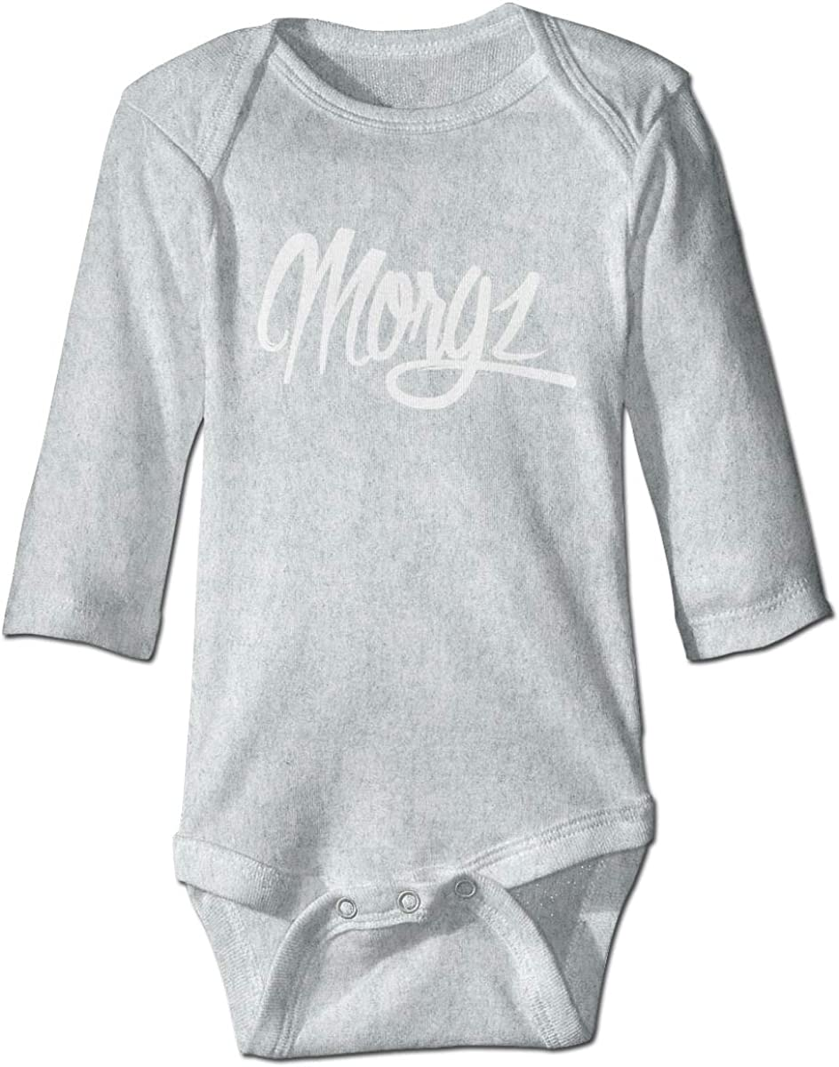 Ltd Shanyujing Jianzhu Co. Morgz Challenge Baby Onesies Long Sleeve Cotton Bodysuit for Baby Boys Girls