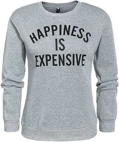 Goodfans Long Sleeve Pullover Ladies Sweaters Comfy Sweatshirts for Women Fashion Sweatshirts
