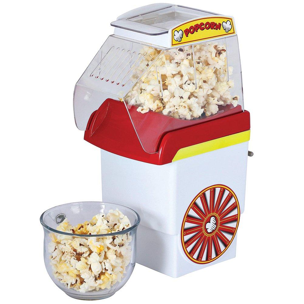Hot Air Popcorn Popper - Dishwasher Safe Top Section 6-8 Cupsper batch