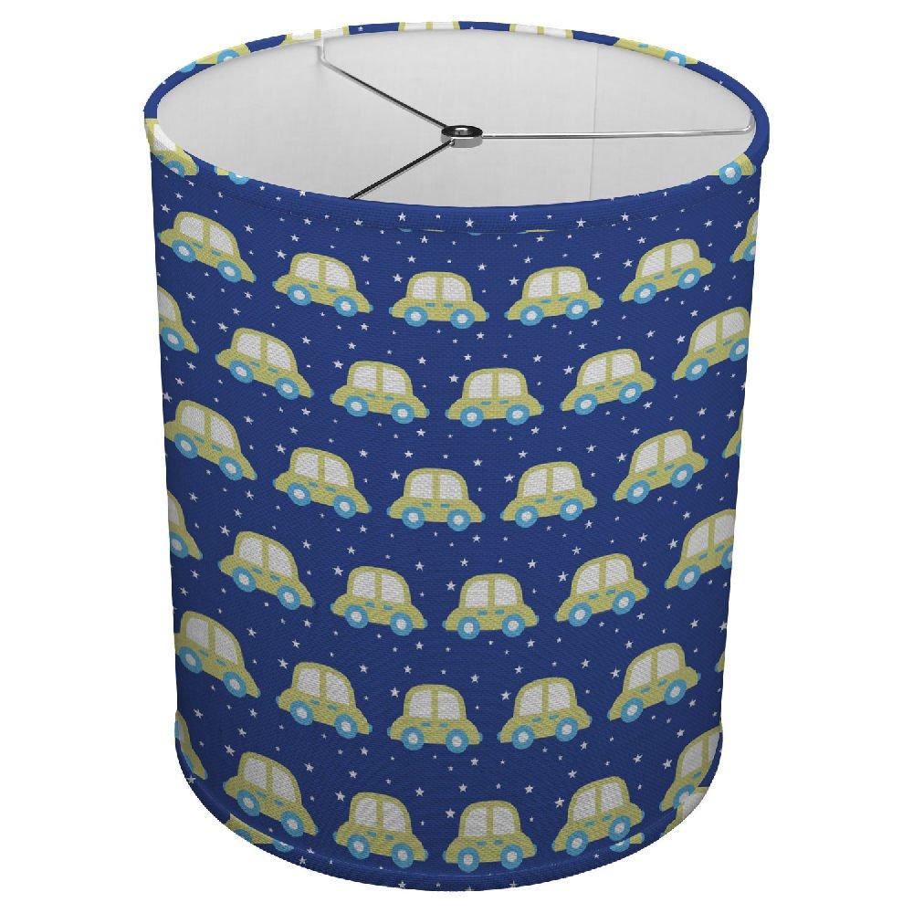 Hardback Linen Drum Cylinder Lamp Shade 8'' x 8'' x 8'' Spider Construction [ Boy Toys ]