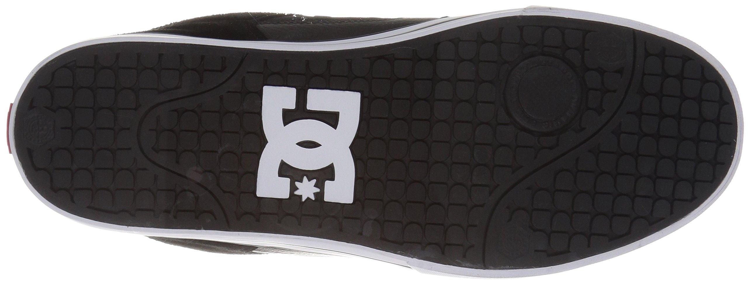 DC Shoes Mens Shoes Pure - Shoes - Men - 9.5 - Black Black/Athletic Red 9.5 by DC (Image #3)