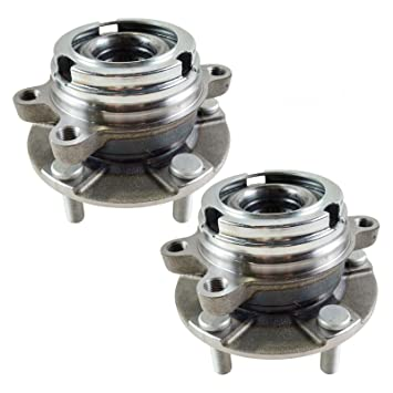 Amazon com: Front Wheel Hubs & Bearings Pair Set of 2 for Nissan
