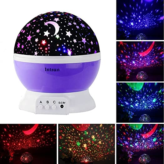 U Starry Sky Projector Lamp Led Night Light Usb Powered Light With Humidifier