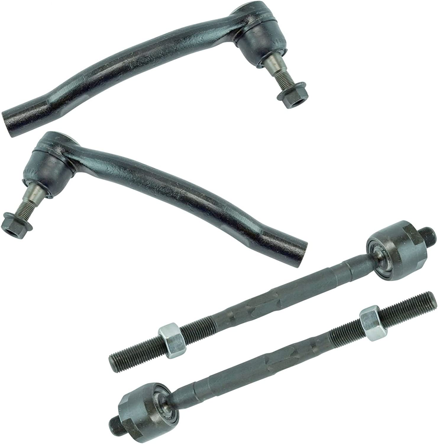 Inner Outer Tie Rod End LH Driver RH Passenger Set of 4 for 09-14 Nissan Murano