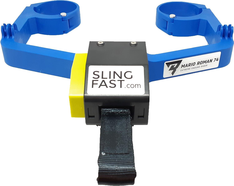 Slingfast A In Bergegurt Enduro Motorrad Empfohlene Farbe Für Hurqvarna Sherco Yamaha Auto