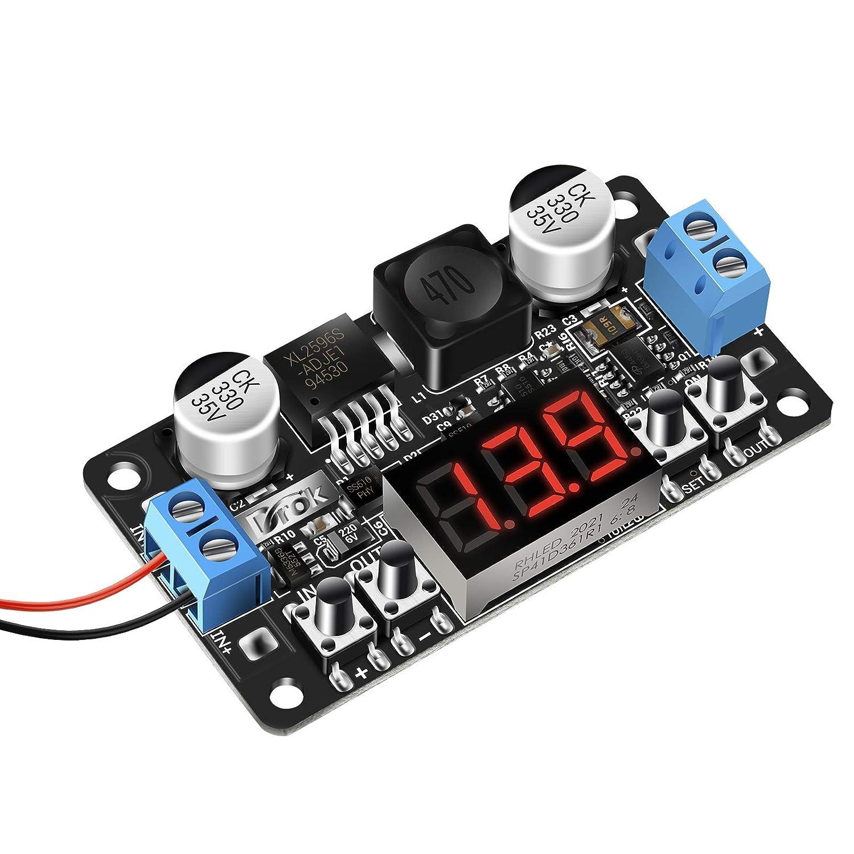 DC-DC Step Down Converter ml2596 5a Voltage Regulator Switching Regulator Display