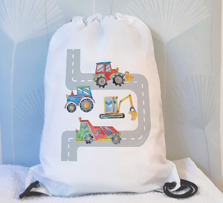 tigerlilyprints Digger Swim Bag, Boys Swimming Bags, Boys Sports Bag, Waterproof Swimming Bag, Large Swim Bag, holiday bags
