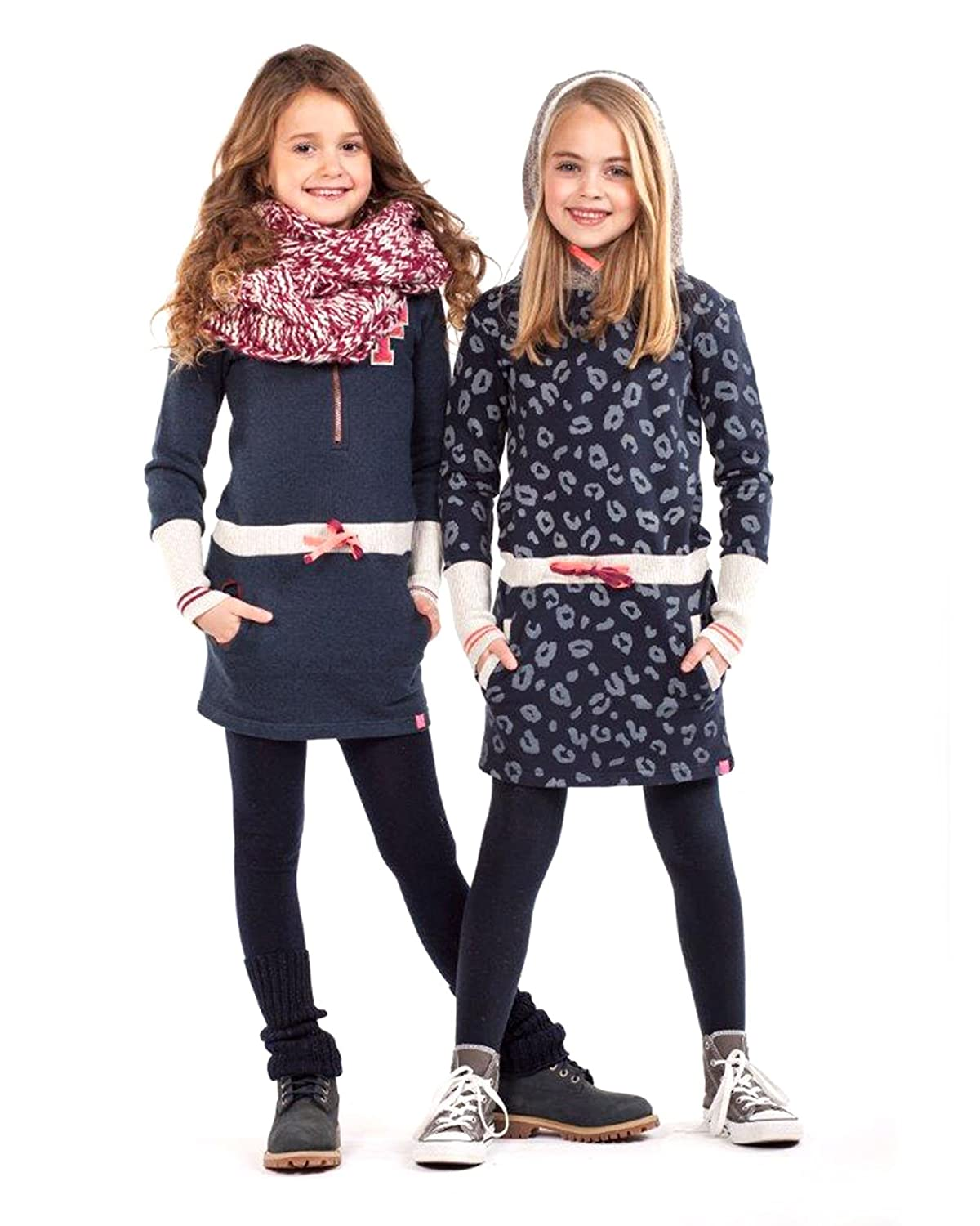 Dress Like Flo Girls Tights with Legwarmers Navy Sizes 6-12