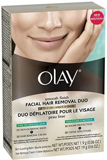 Buy Olay Smooth Finish Facial Hair Removal Duo For Fine To Medium