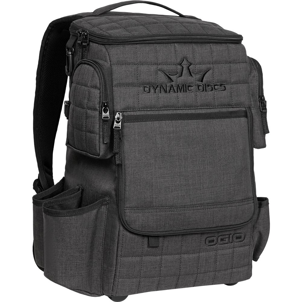 Dynamic Discs Ranger Backpack Disc Golf Bag - Holds Over 20 Discs (Heathered Gray)