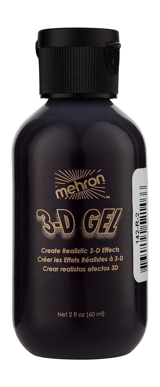 Mehron Makeup 3-D Gel (2 oz) (Blood Red) Getting Fit 764294521466