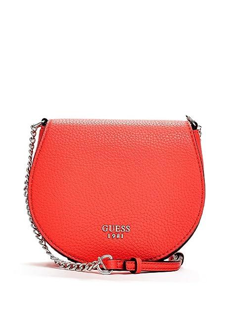 Vg621679 Bolso Mujer De Rojo TuAmazon Piel Imitación Guess es Mini nv0mNw8