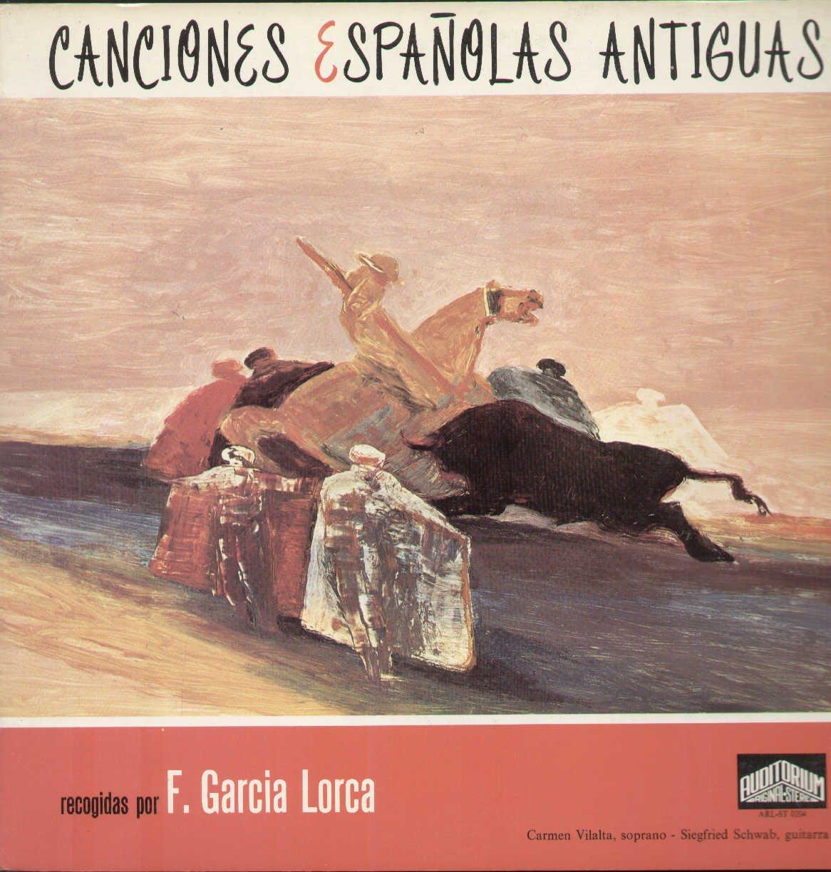 ARLST0204 LP Lorca Canciones Espanolas Antiguas VINYL: Federico ...