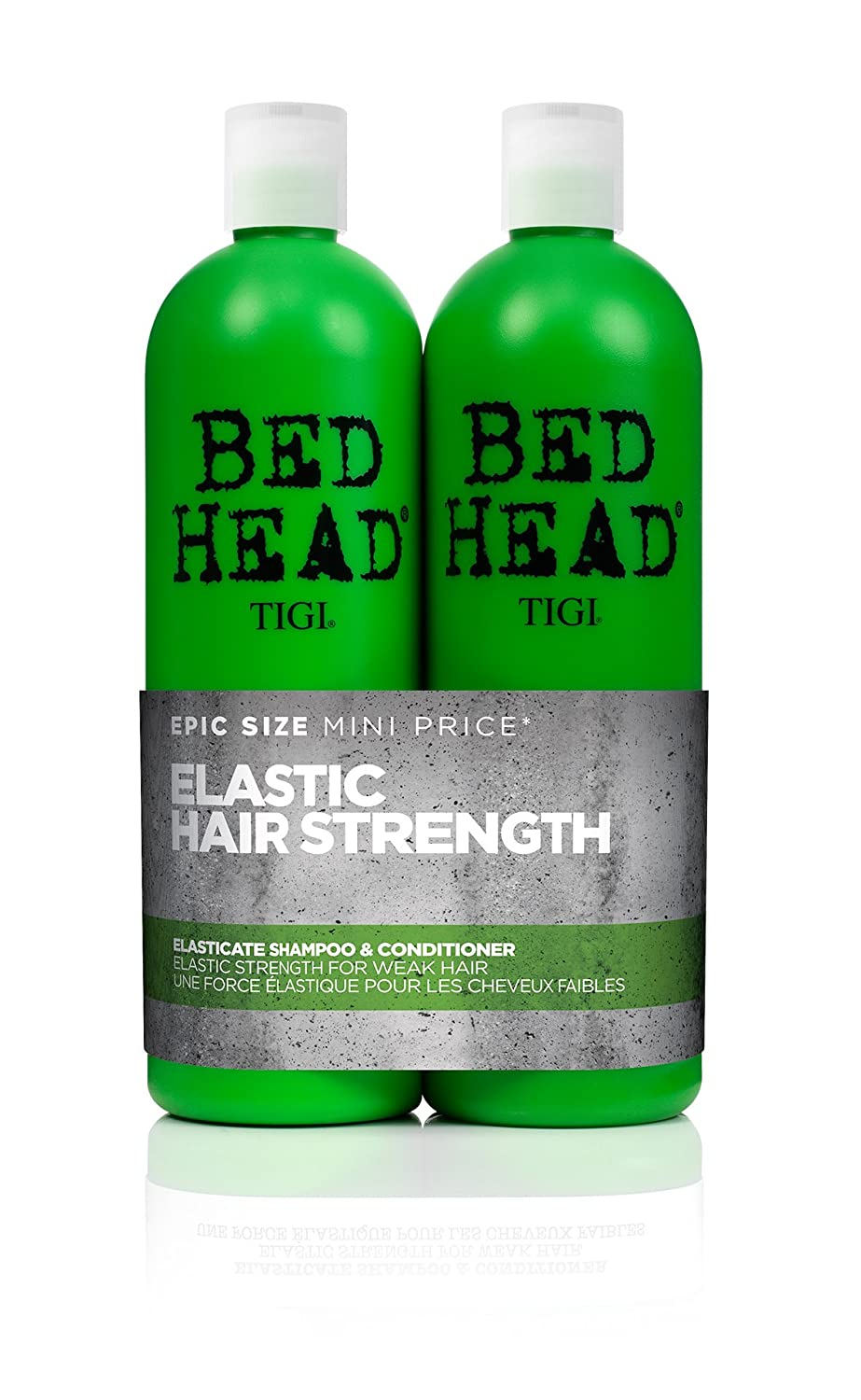 BED HEAD by TIGI Elasticate Tween Duo Strengthening Shampoo and Conditioner for Weak, Damaged Hair Tigi Bed Head NLA125848 ELASTICATETWEENS