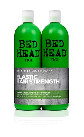 buona vendita stile romanzo bel design TIGI Bed Head Elasticate Strengthening Shampoo and Conditioner, 2 x 750 ml