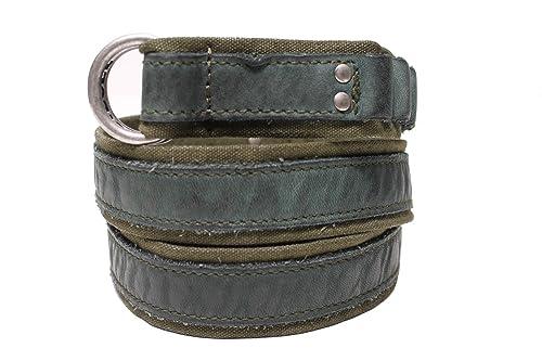 DIESEL - Cinturón - correa en cuero et Algodón DNASBELT