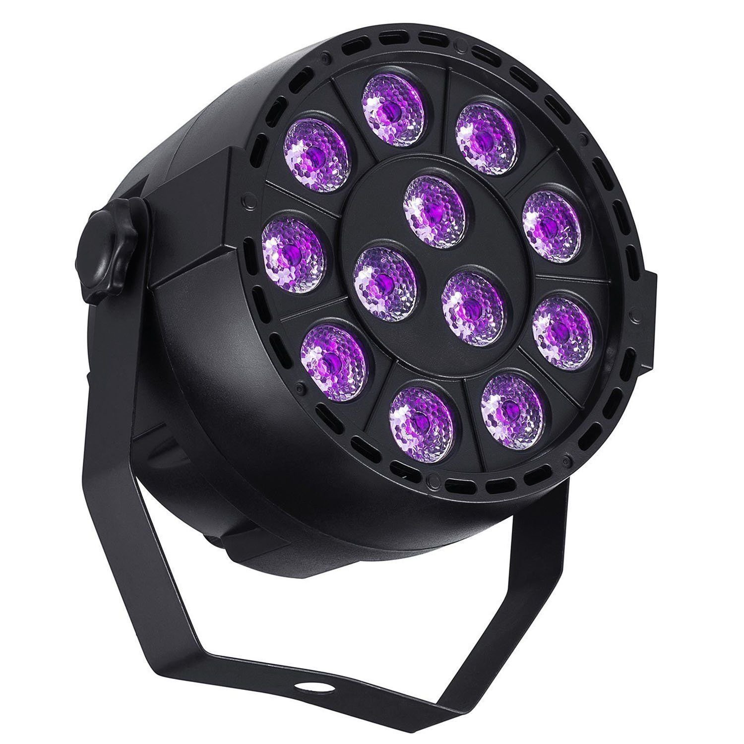 DeepDream 36W Black Light UV LED Lamp DJ Blacklights Ultraviolet Bulb Auto Lighting Voice Control for Party Stage Wedding Disco Club