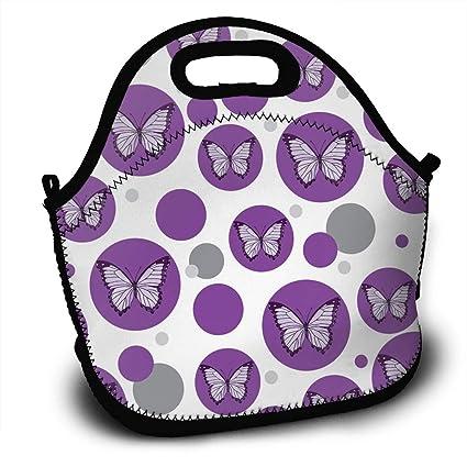 615194546332 Amazon.com - Sunmoonet Neoprene Insulated Lunch Tote Bag for Women ...