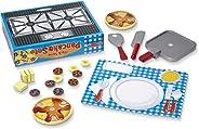 Melissa & Doug Flip and Serve Pancake Set (19 pcs) - Wooden Breakfast Play Food