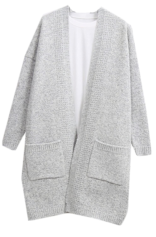 ASL Womens Fashion Sexy Knit Cardigan Pocket