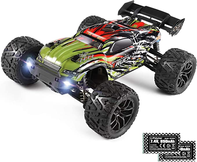 Amazon Com Remote Control Car 1 18 Scale Hailstorm 4wd All Terrain Rc Car High Speed Racing 36 Kmh 2 4 Ghz Rc Truck 4x4 Off Road Waterproof Electric Powered Radio Control Toys Gift For