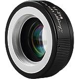 Zhongyi Bague d'adaptation 2ème génération pour monter les objectifs de M42 aux caméras FX pour Fuji Pro1 X-E1 X-E2 X-M1 X-A2 X-A1 X-T1