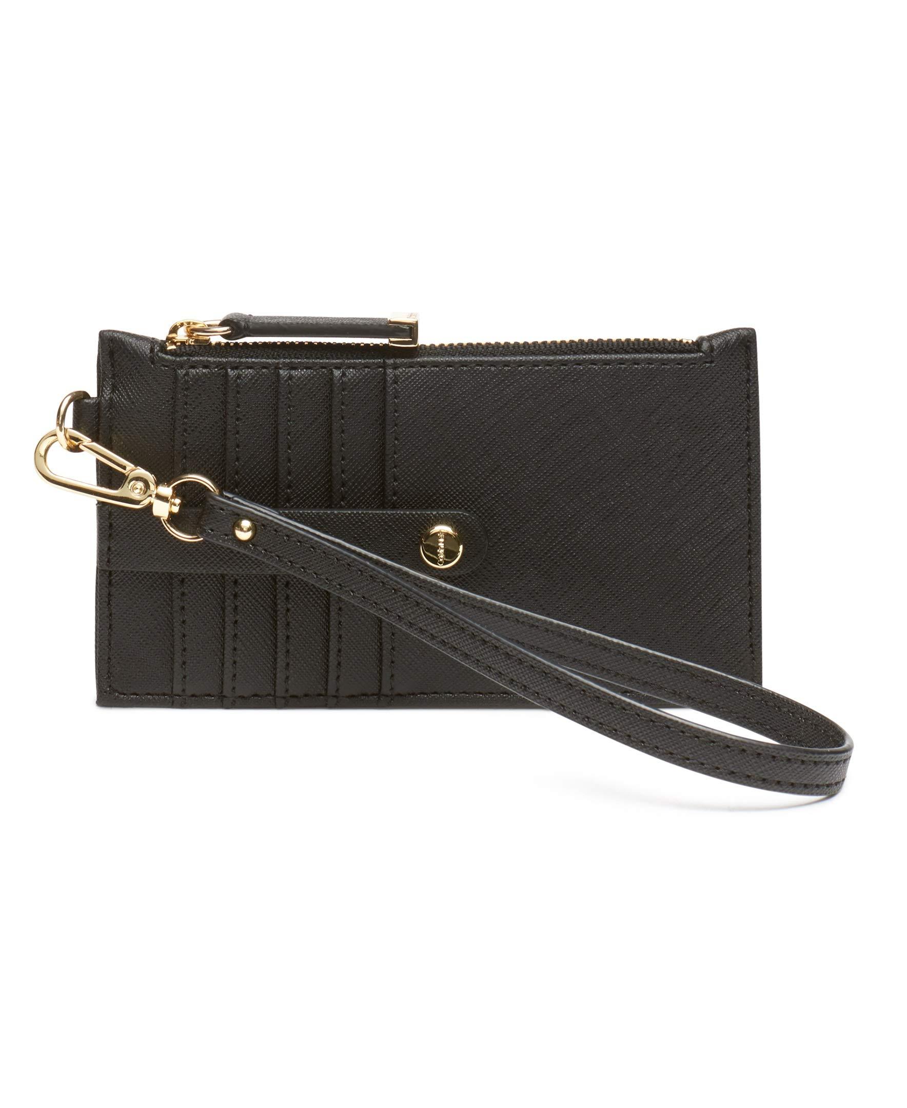Calvin Klein Saffiano Card Case Wristlet