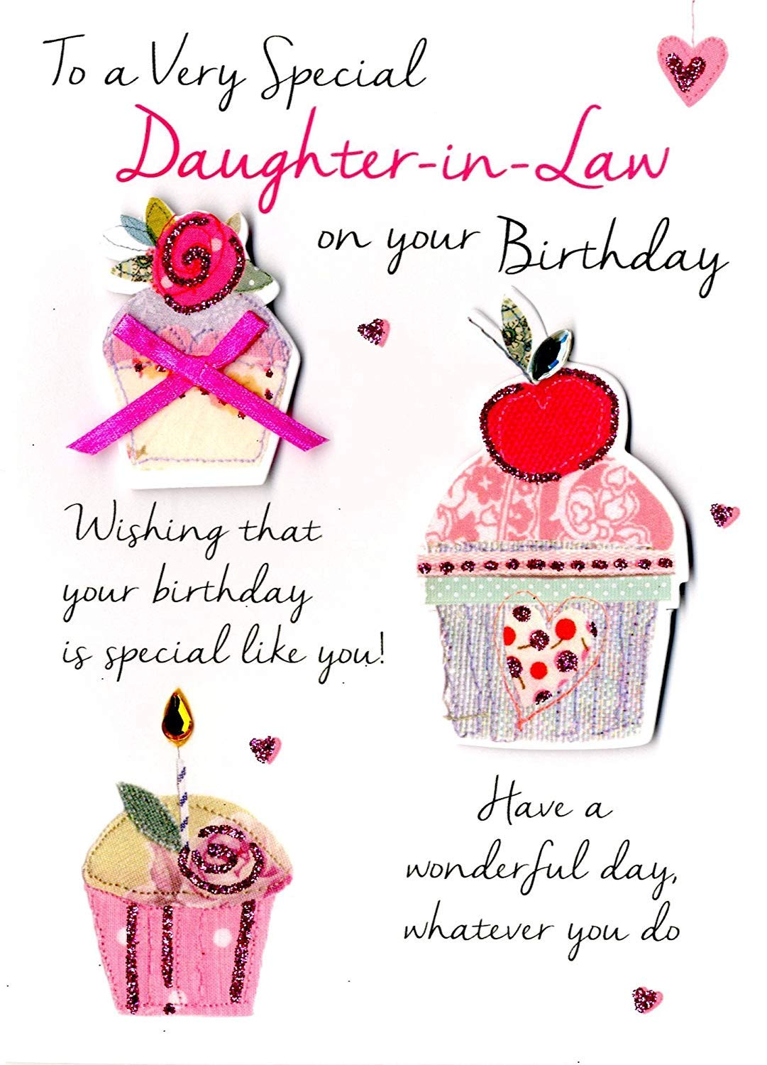 For A Special Daughter On Your Birthday Greeting Card