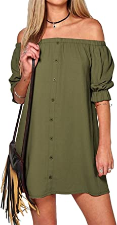 L//XL Women/'s Relaxed Drawstring Striped Mini Dress S//M