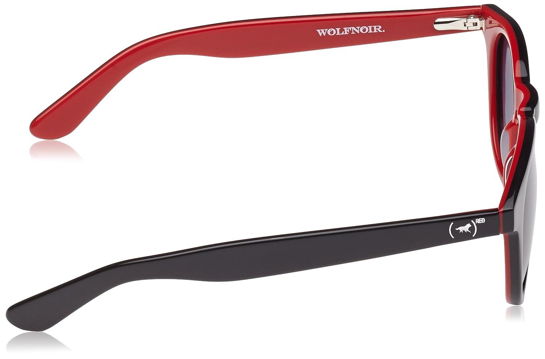 Wolfnoir, HATHI RED - Gafas De Sol unisex multicolor (negro ...
