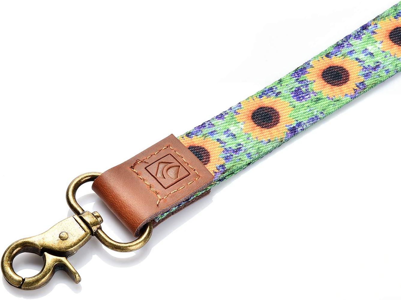 portafoglio con girasole alla moda cordino da collo LUXIANDA Cordino per chiavi