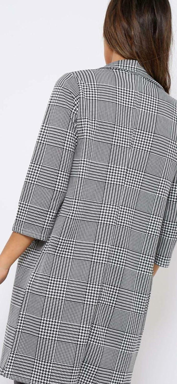 Red Olives/® New Ladies Frill Ruffle 3//4 Sleeve Duster Coat Women Jacket Blazer UK 8-26