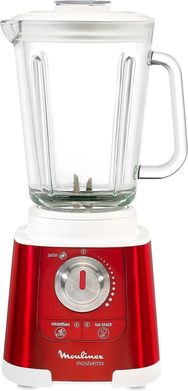 Moulinex Mastermix Red Rubi - Batidora de vaso, 850 W, vaso de ...