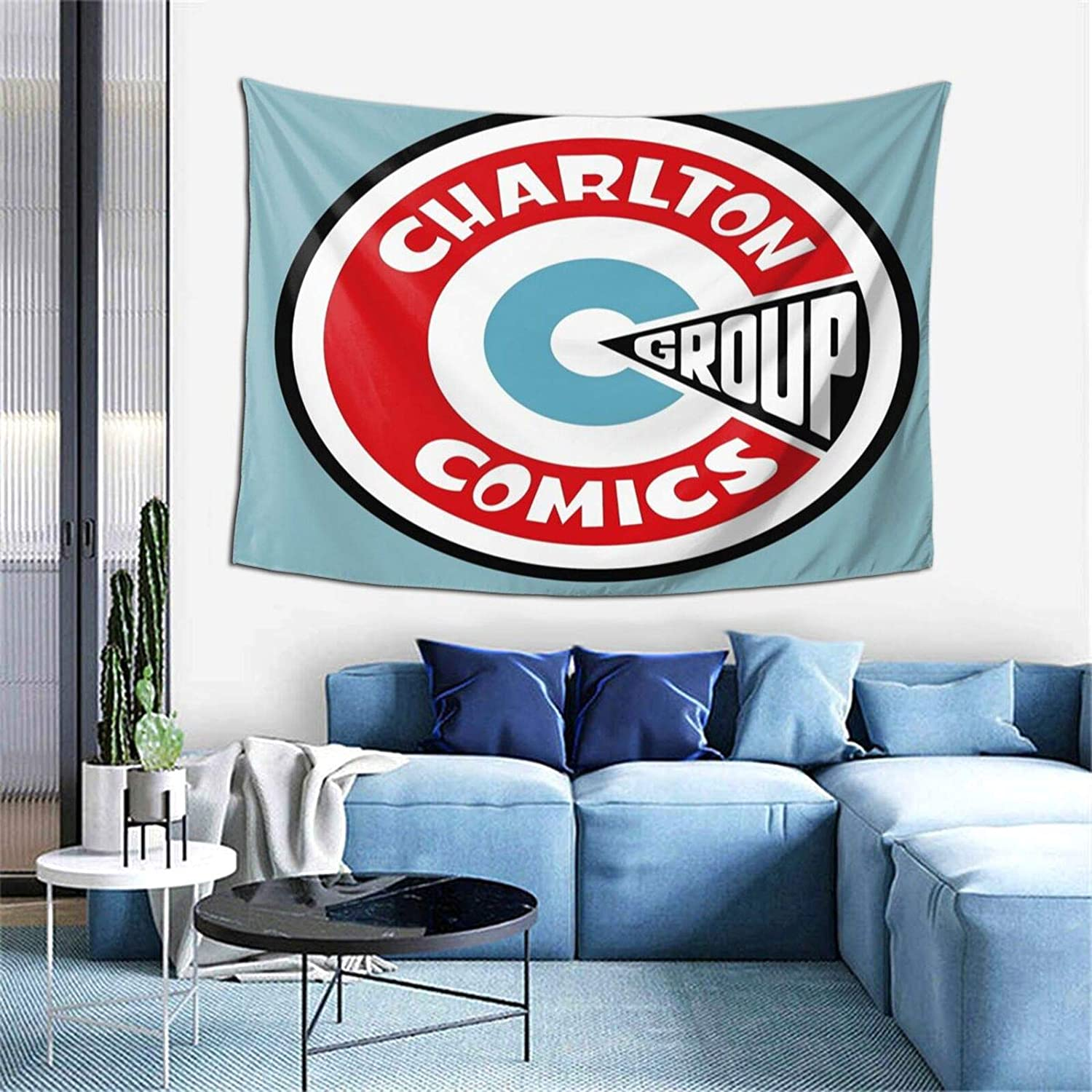 Charlton Comi Group Wall Tapestry Apestry Album 3D Wall Hanging Art Home Decor Wave Tapestries