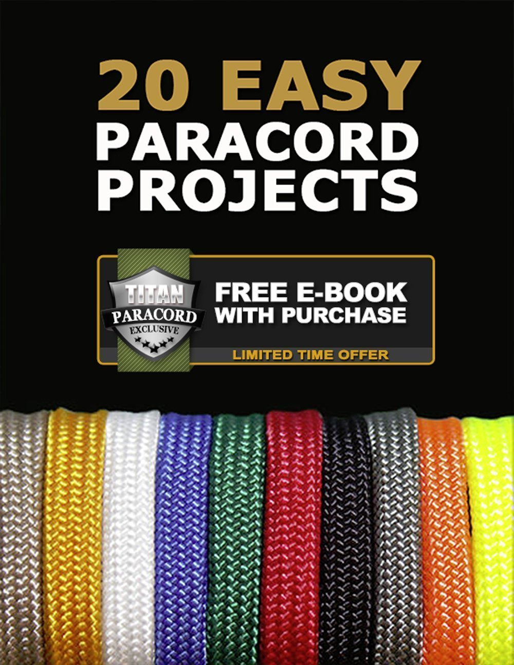 Titan SurvivorCord | Reflective Orange | 103 Feet | Patented Military Type III 550 Paracord/Parachute Cord (3/16'' Diameter) with Integrated Fishing Line, Fire-Starter, and Utility Wire. by Titan Paracord (Image #9)