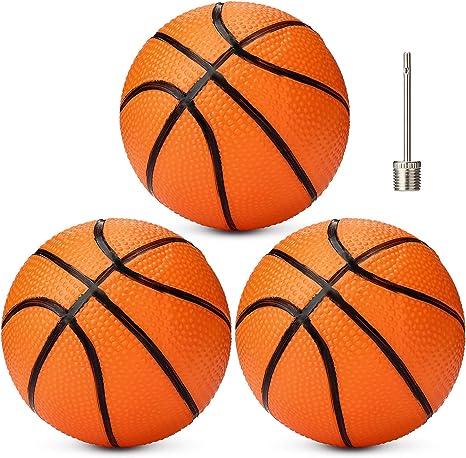3 Paquetes Mini Baloncesto Inflable Pelota de Baloncesto de ...